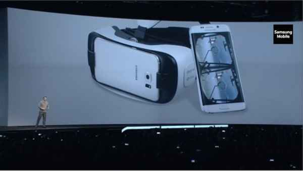 Гарнитуруа Gear VR для Galaxy S6 и Galaxy S6 Edge