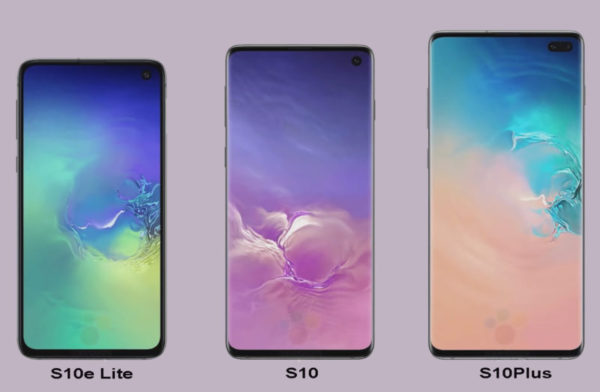 Galaxy S10, S10Plus, S10e lite