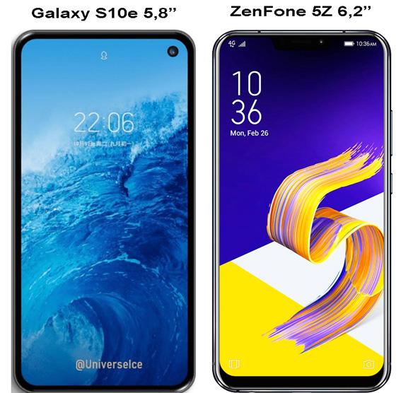 Samsung-S10e и ZenFone